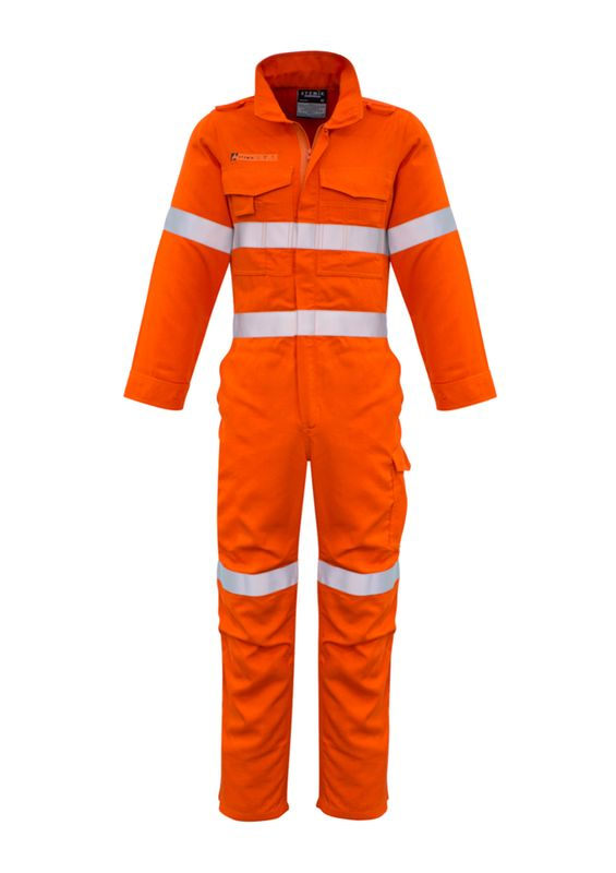 Syzmik Mens Fire Resistant Hooped Taped Overall