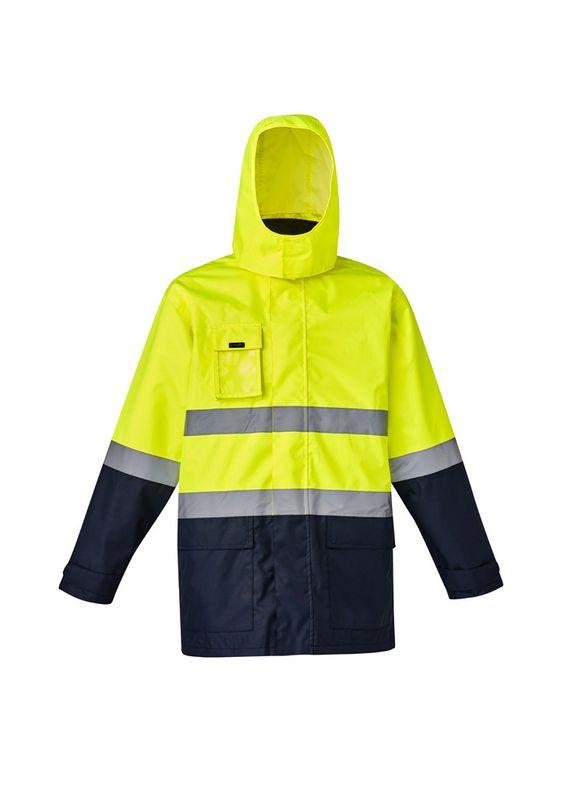 Syzmik Mens Hi Vis Basic 4 in 1 Waterproof Jacket