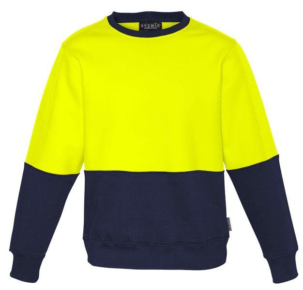 Syzmik Unisex Hi Vis Crew Sweatshirt