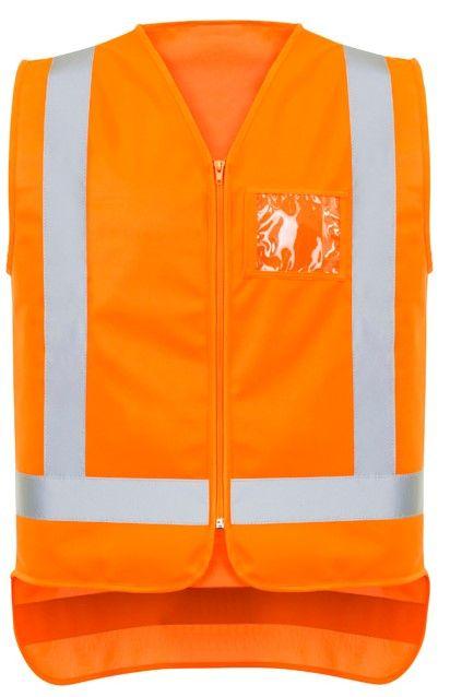 Syzmik Mens TTMC-W17 Zip X Back Vest