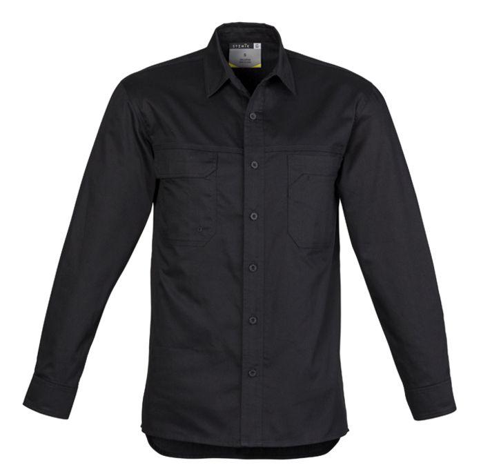 Syzmik Mens Lightweight Tradie Long Sleeve Shirt