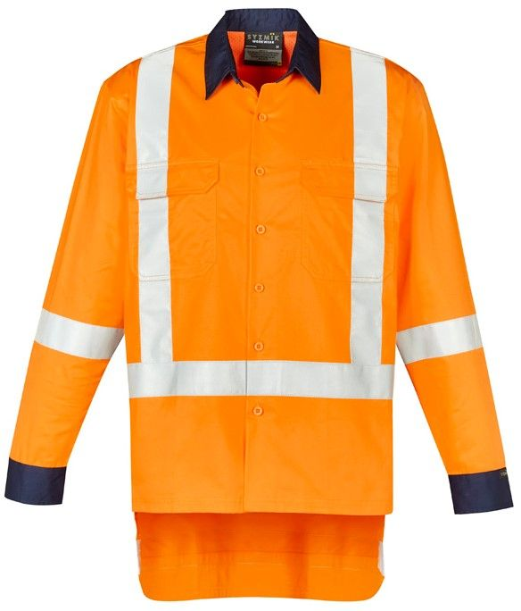 Syzmik Mens TTMC-W17 X Back Work Shirt