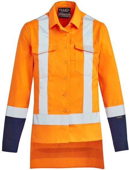 Syzmik Womens TTMC-W17 Drill Work Shirt