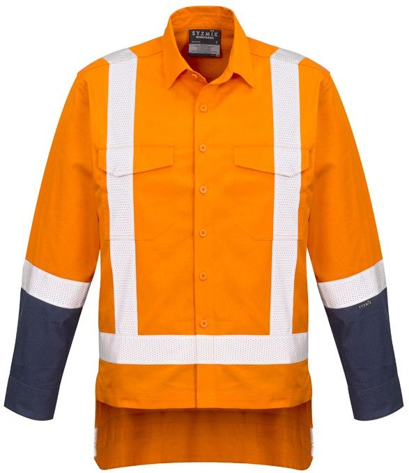 Syzmik Mens Rugged Cooling TTMC-W17 Work Shirt