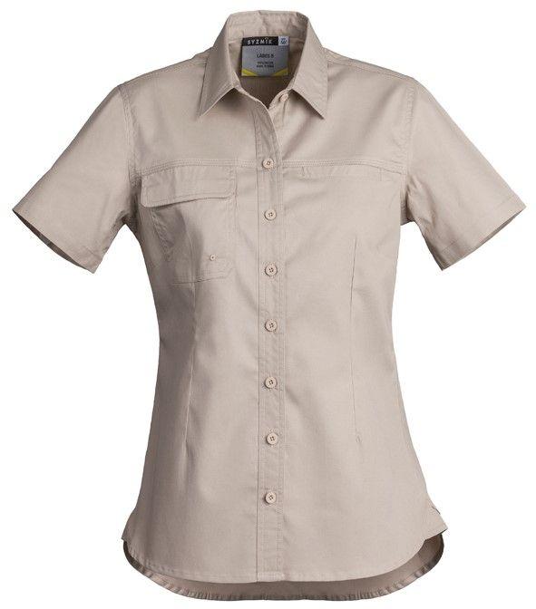 Syzmik Womens Lightweight Tradie Short Sleeve Shirt