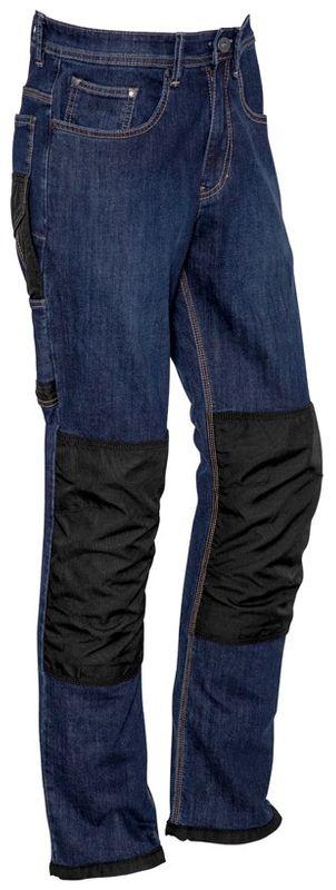 Syzmik Mens Heavy Duty Cordura Stretch Denim Jeans