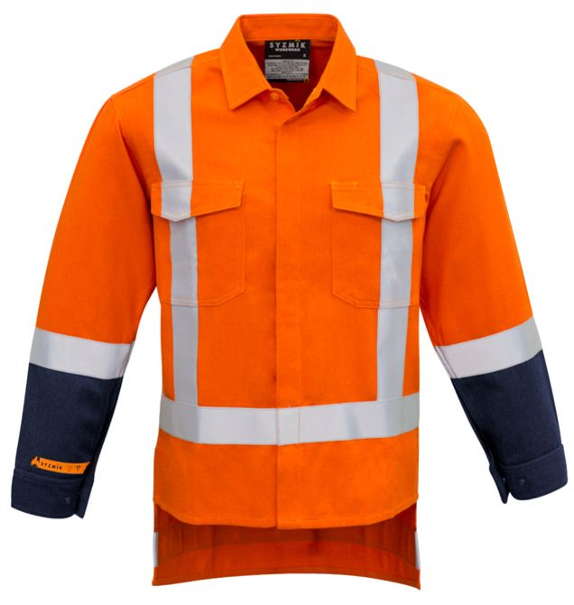 Syzmik Mens Fire Resistant TTMC-W17 Taped Shirt
