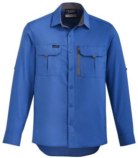 Syzmik Mens Outdoor Long Sleeve Shirt