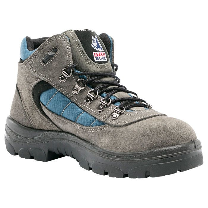 Steel Blue Wagga TPU 200J Steel Toe Cap Lifestyle Lace-up Boot