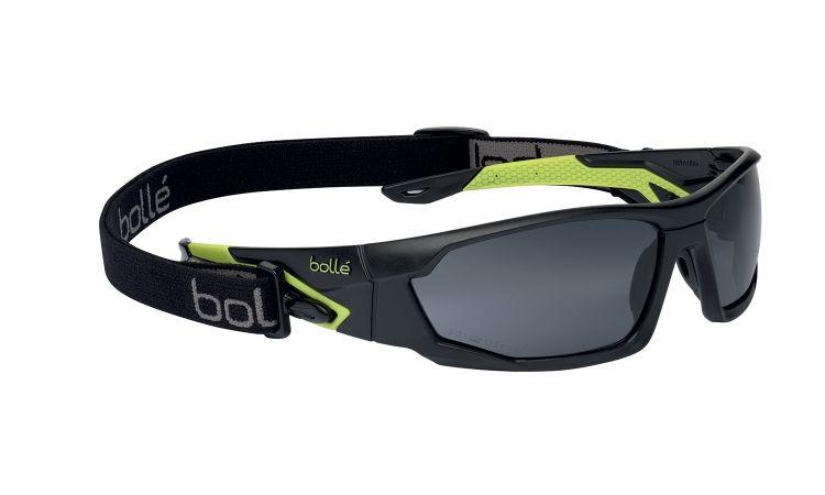 Bolle Mercuro Safety Glasses Smoke Lens