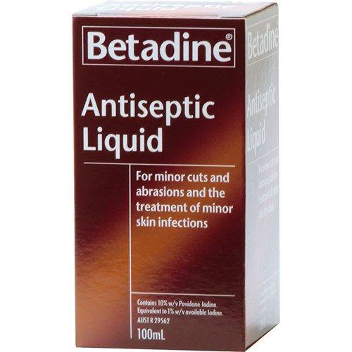 Betadine Antispetic Liquid 100ml