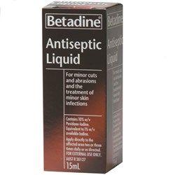 Betadine Antispetic Liquid 15ml