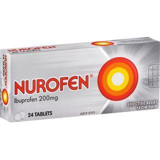 Nurofen Ibuprofen Tablets 200g Box 24