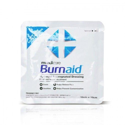 Mundicare Burnaid Pad 10cm x 10cm