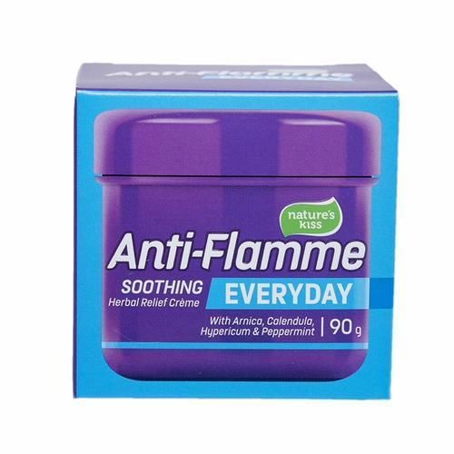 Nature's Kiss Anti-Flamme Soothing Herbal Relief Creme 90g
