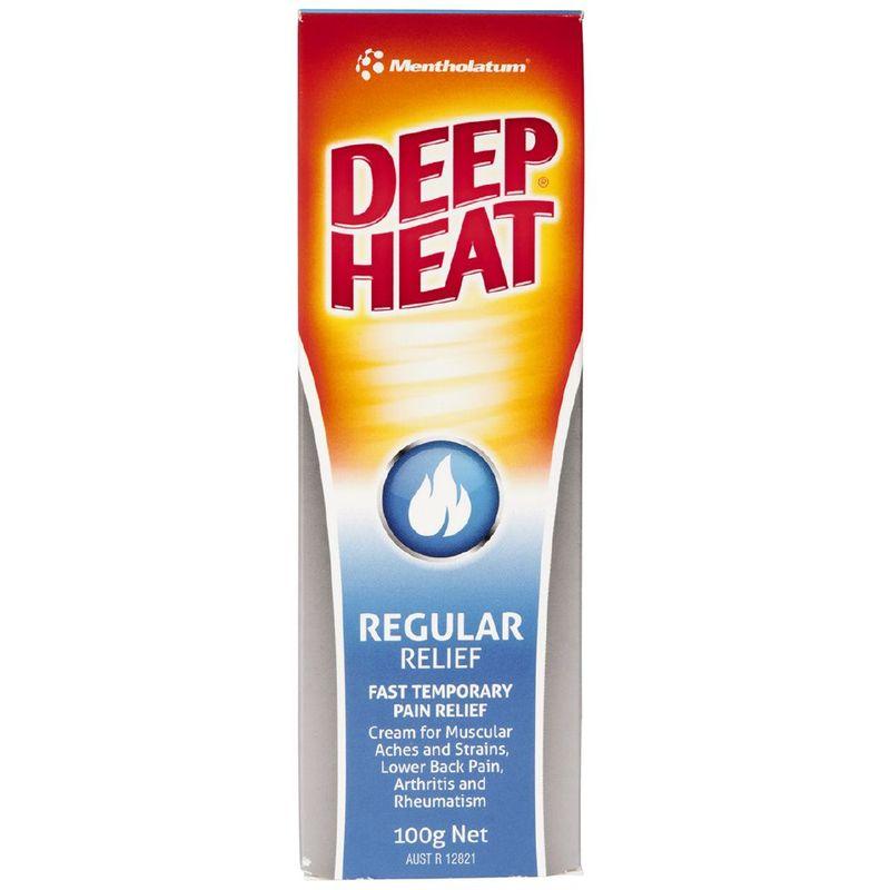 Deep Heat Pain Relief Cream 100g