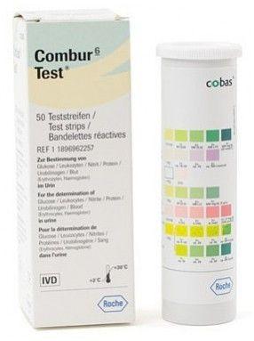 Roche Combur 6 Test Strips Box 50