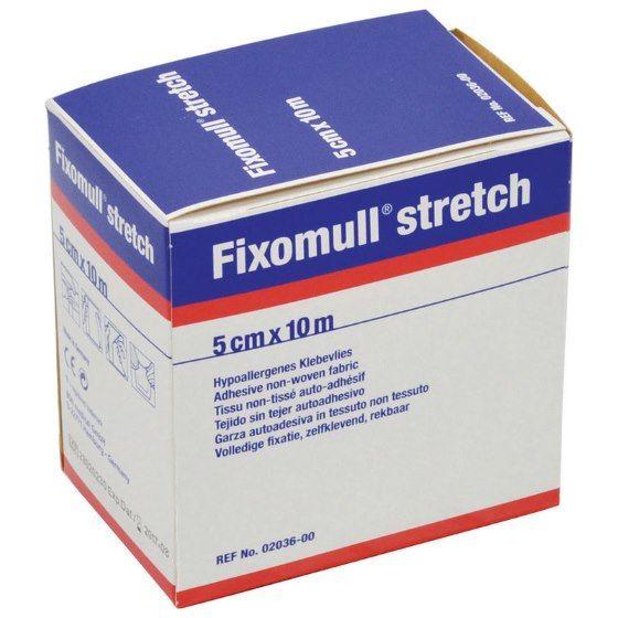 Fixomull 2036 Adhesive Non-Woven Fabric Stretch Bandage 5cm x 10m