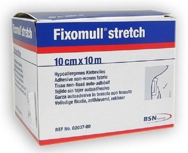 Fixomull 2037 Adhesive Non-Woven Fabric Stretch Bandage 10cm x 10m