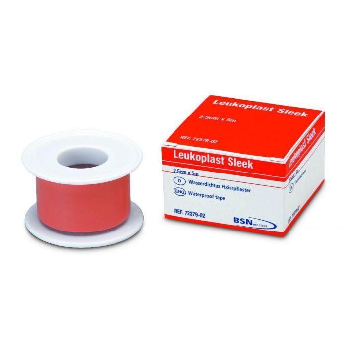 Leukoplast 72379-02 Sleek Waterproof Tape Flesh 2.5cm x 5m