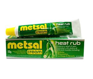 Metsal Heat Rub Cream 50g