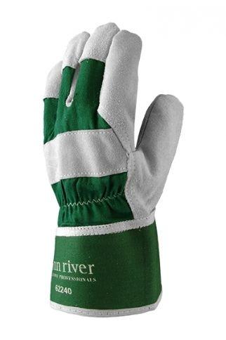 Lynn River Leather Fox Handyman Safety Cuff Gloves