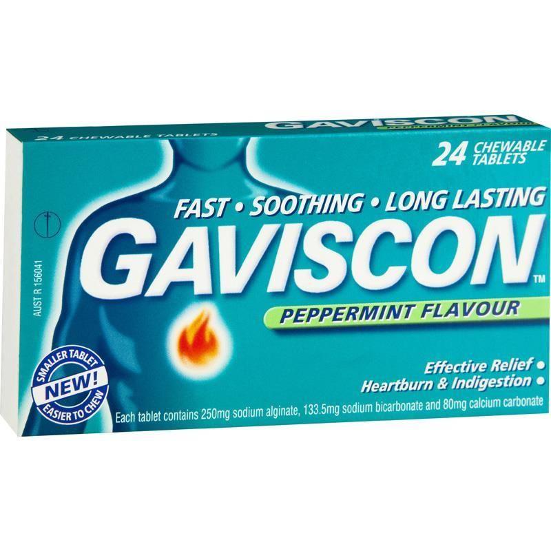 Gaviscon Gaviscon Tabs Chew Box 24