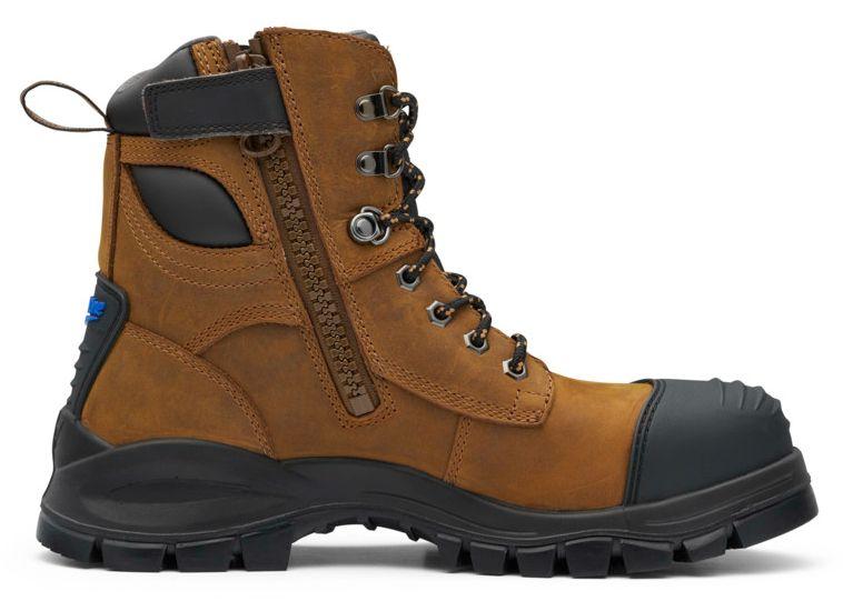 Blundstone  983 Crazy Horse Side Zip Boot