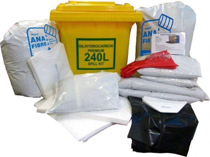 Help-It Premium Oil Spill Kit 240L