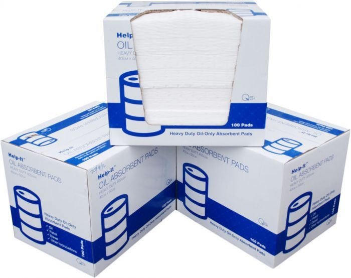 Help-It Absorbent Oil Pad 200gsm