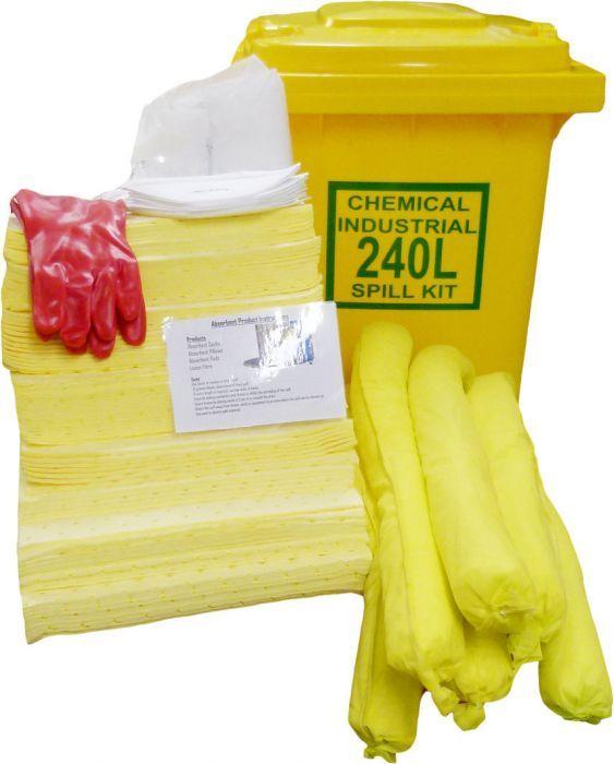 Help-It Chemical Spill Kit Refill 240L