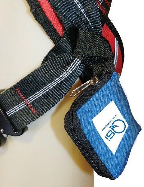 QSI Suspension Trauma Strap In Pouch - Pair