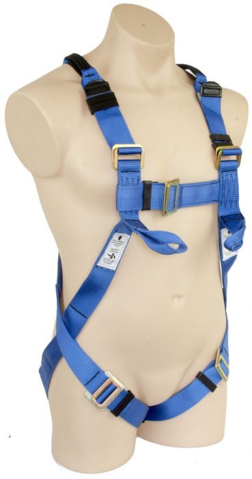 QSI Full Body Harness Confined Space Loops & Lower Chest Loops