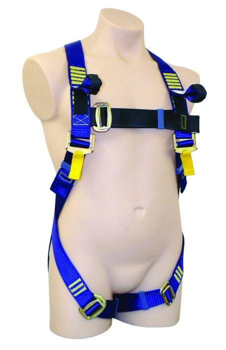 QSI Full Body Basic Harness Dorsal D ring Frontal Webbing Loops