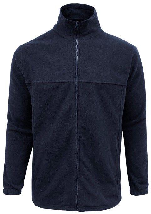 Fashion Biz Plain Microfleece Mens Jacket