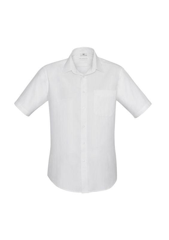 Fashion Biz Mens Preston Short Sleeve Shirt