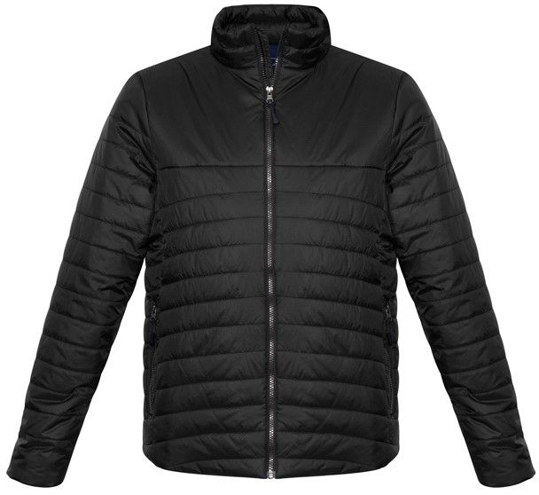 Fashion Biz Mens Expedition Quilted Jacket