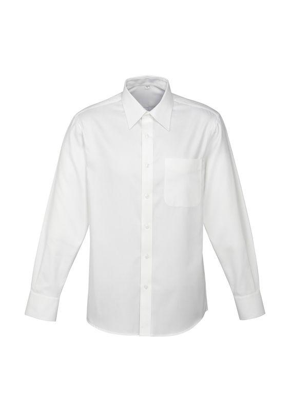 Fashion Biz Mens Luxe Long Sleeve Shirt