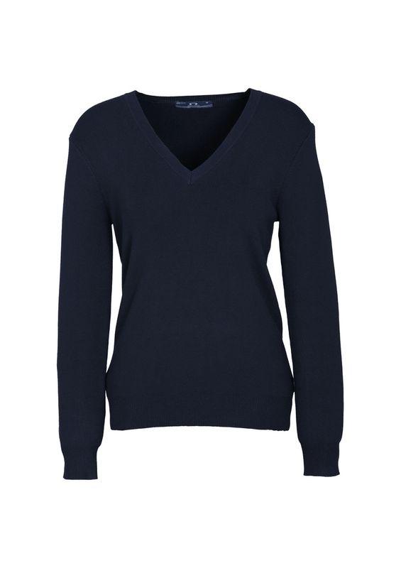 Fashion Biz Ladies V-Neck Pullover