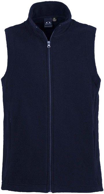 Fashion Biz Ladies Plain Micro Fleece Vest