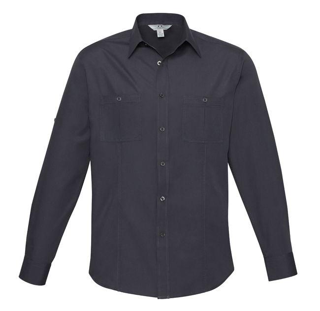 Fashion Biz Mens Bondi Long Sleeve Shirt