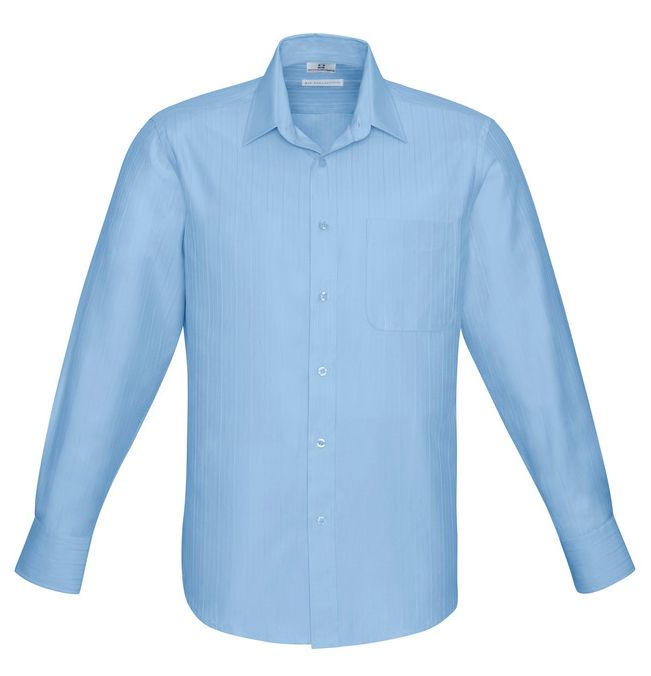 Fashion Biz Mens Preston Long Sleeve Shirt