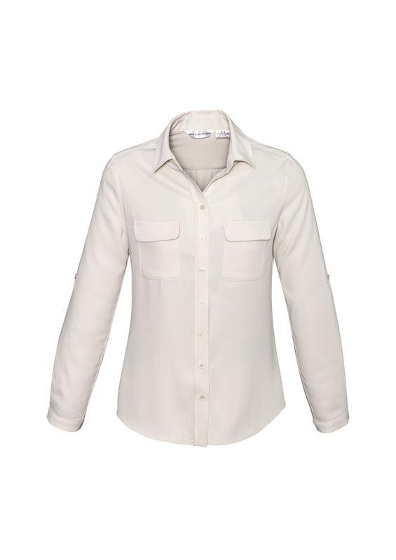 Fashion Biz Ladies Madison Long Sleeve Shirt