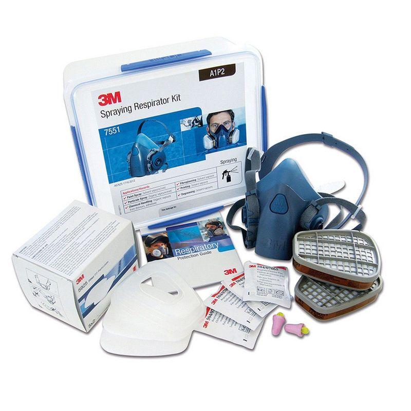 3M Spraying Respirator Kit