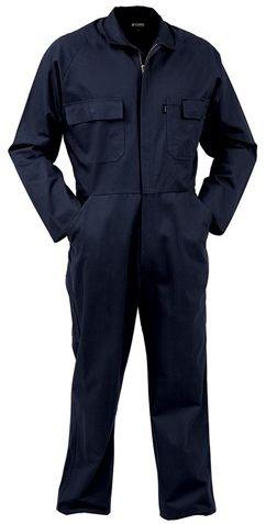 Bison 300gsm Cotton Zip Overall