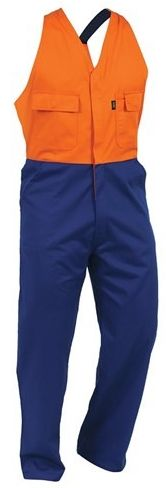 Bison Polycotton Contrast Easy Action Overall