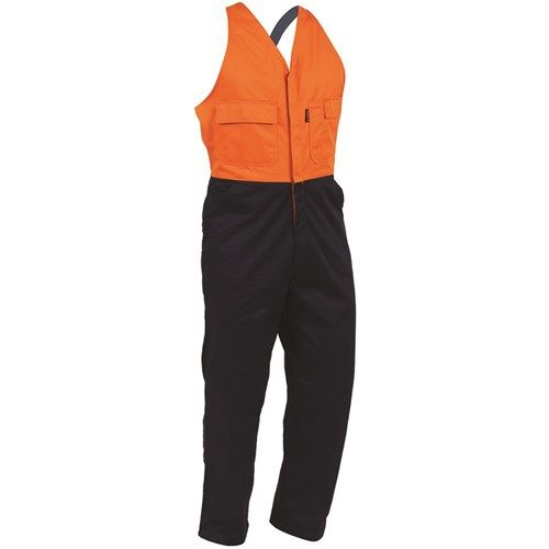 Bison Cotton Contrast Easy Action Dome Overall