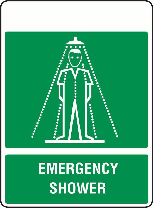 Emergency Shower PVC