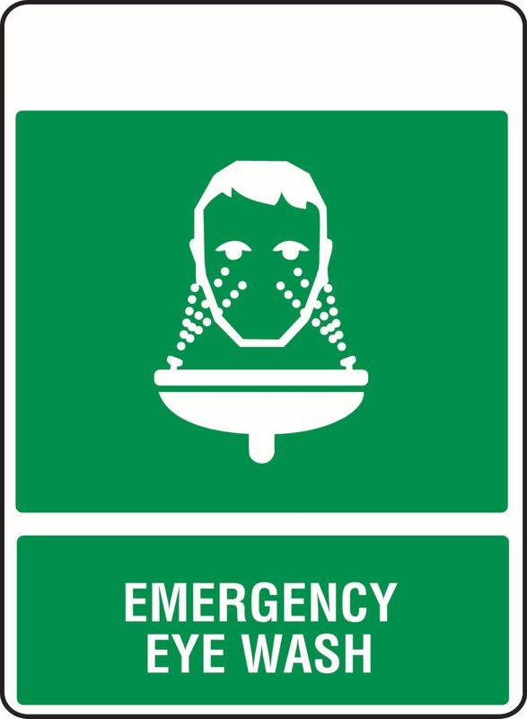 Emergency Eye Wash PVC