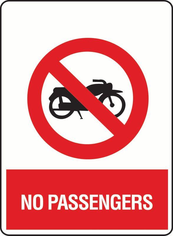 No Passengers (Motorbike) ACM